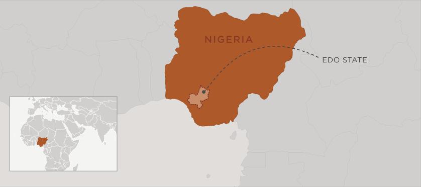 NDSA_Nigeria_Edo_map