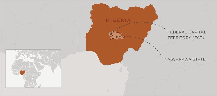 ITC4A_Nigeria_FCT_NAS_map