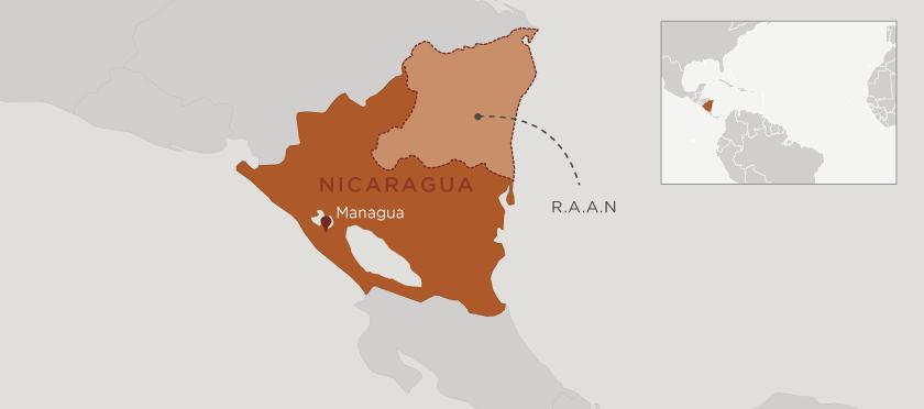 UNICEF_Nicaragua_map